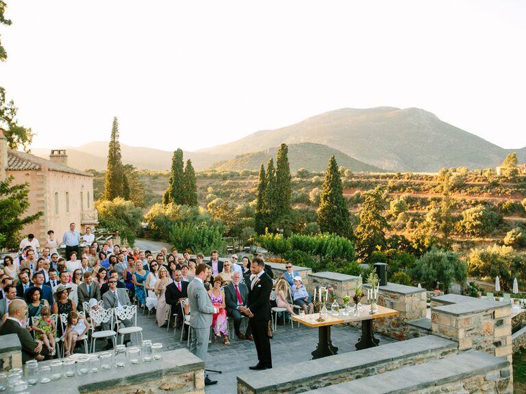 Same-sex couple in sparta, greece