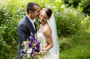 Bride and Groom Couple Photo