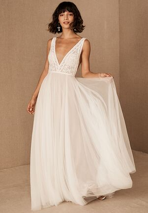BHLDN Watters Harlan Gown A-Line Wedding Dress