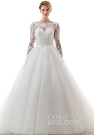 CocoMelody Wedding Dresses LD4481 Ball Gown Wedding Dress
