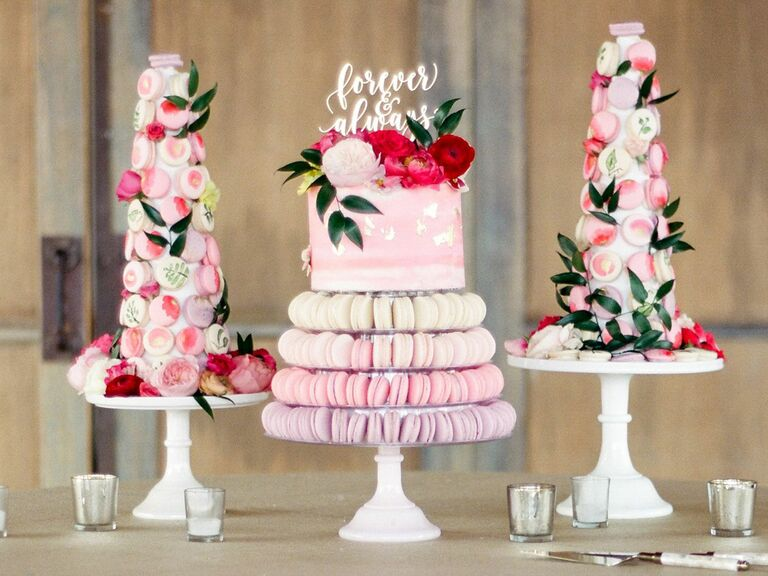 Ways To Serve Macarons At Your Wedding Reception