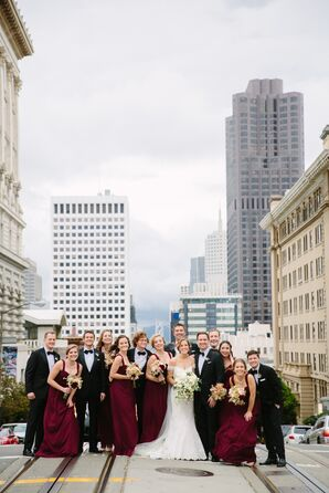Elegant City Wedding in San Francisco