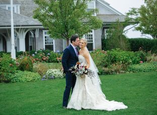 For their early October nuptials, San Francisco–based couple Victoria van Roijen (33 and a registry marketing manager) and Bob Hall (40 and a business