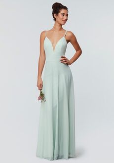 Kleinfeld Bridesmaid KL-200165 V-Neck Bridesmaid Dress