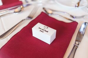 Personalized Wedding Favor Gift Boxes