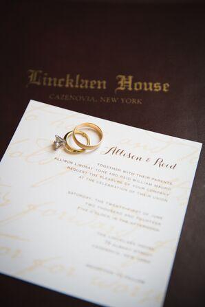 Wedding Vows Watermark Wedding Invitations