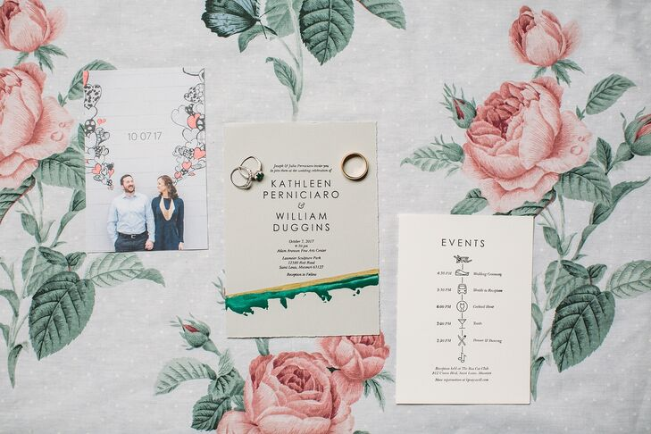 Simple Invitations for Wedding in St. Louis, Missouri