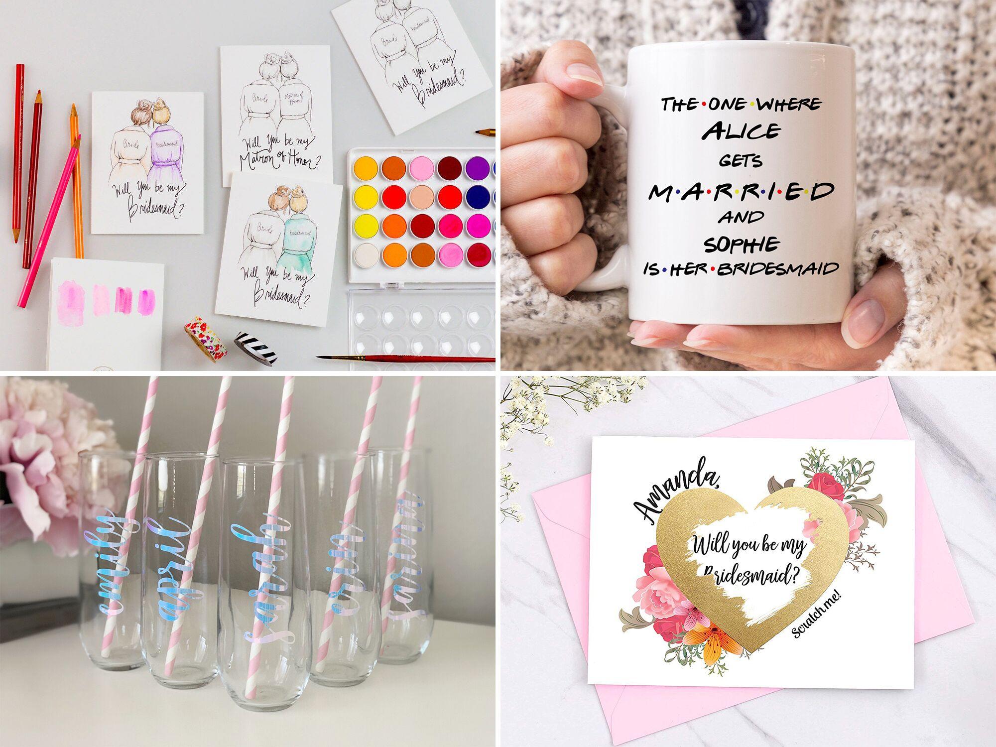 43 Creative Bridesmaid Proposal Ideas