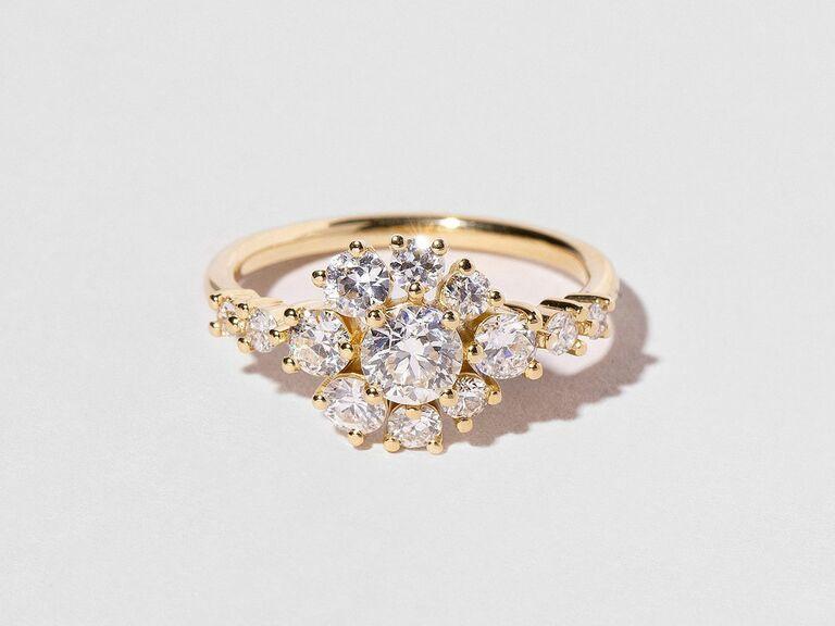 Mociun vintage engagement ring