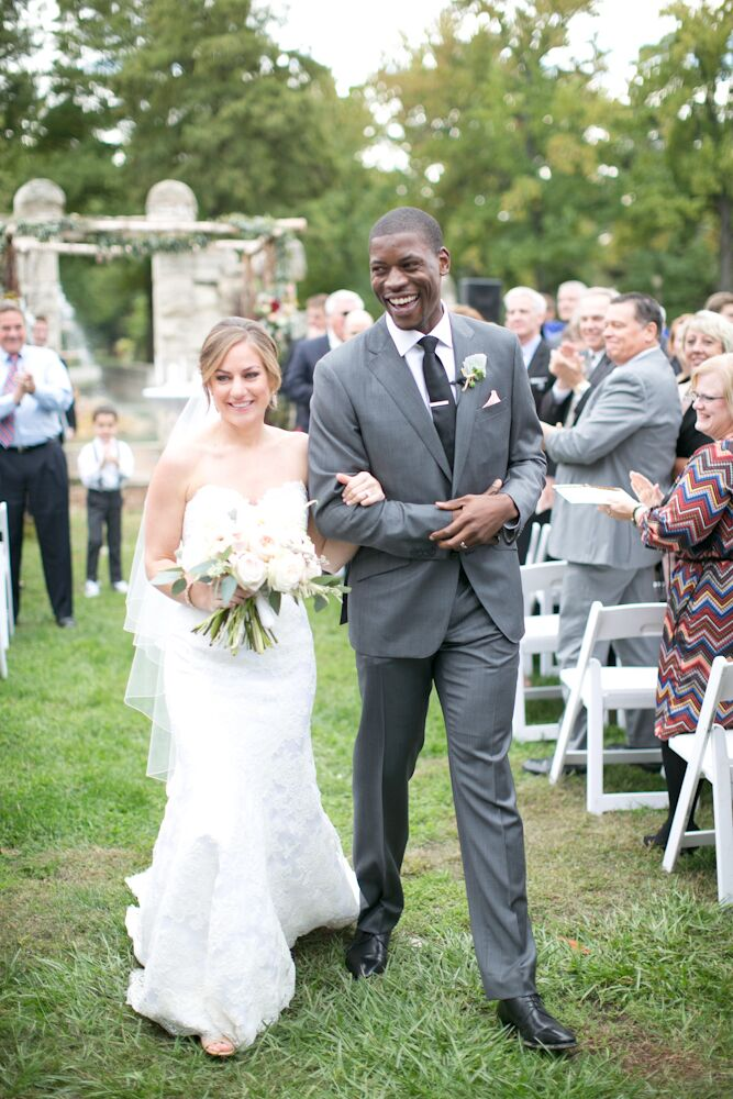 Jessica Wolf (28 and a store manager at Lululemon Athletica) and Bassey Eno-Idem (32 and works in sales for Nestle Purina) wanted their wedding to fee