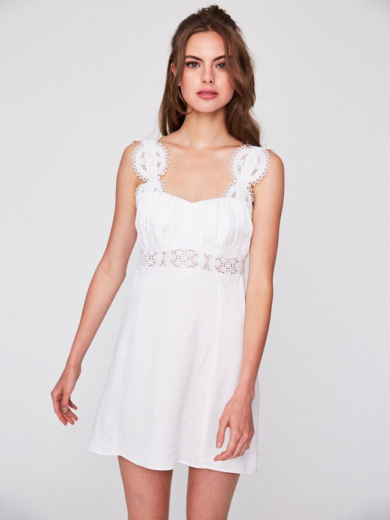 9 White Hot Bachelorette Party Dresses You Can Shop Now