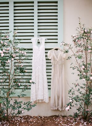 Vintage-Inspired BHLDN and Anna Sui Wedding Dresses
