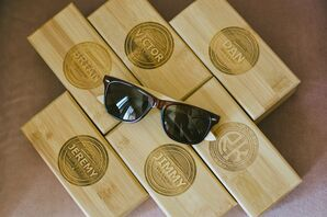 Personalized Wood Cigar Boxes for Groomsmen