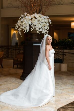 Rosa Clara White Wedding Dress