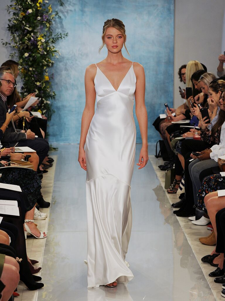Theia Fall 2018 Wedding Dresses Satin Slip
