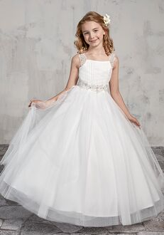Mary's Angel by Mary's Bridal MB9013 Ivory Flower Girl Dress