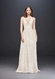 David's Bridal Galina Style WG3844 Ball Gown Wedding Dress