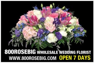 "800ROSEBIG Wholesale ""TO THE PUBLIC"" Wedding FLORIST!!!"