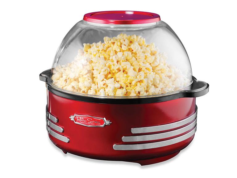 Nostalgia Electrics popcorn maker fourth anniversary gift appliance
