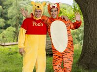 winnie the pooh and tigger couple halloween costume