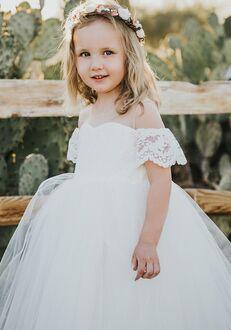 FATTIEPIE Harperlace Flower Girl Dress