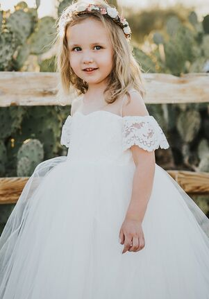 FATTIEPIE Harperlace Flower Girl Dress