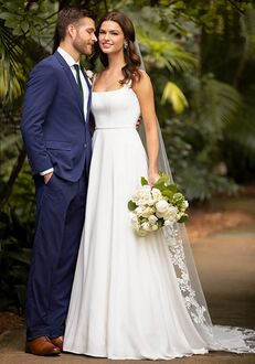 Essense of Australia D3115 A-Line Wedding Dress