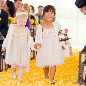Ivory Flower Girl Attire