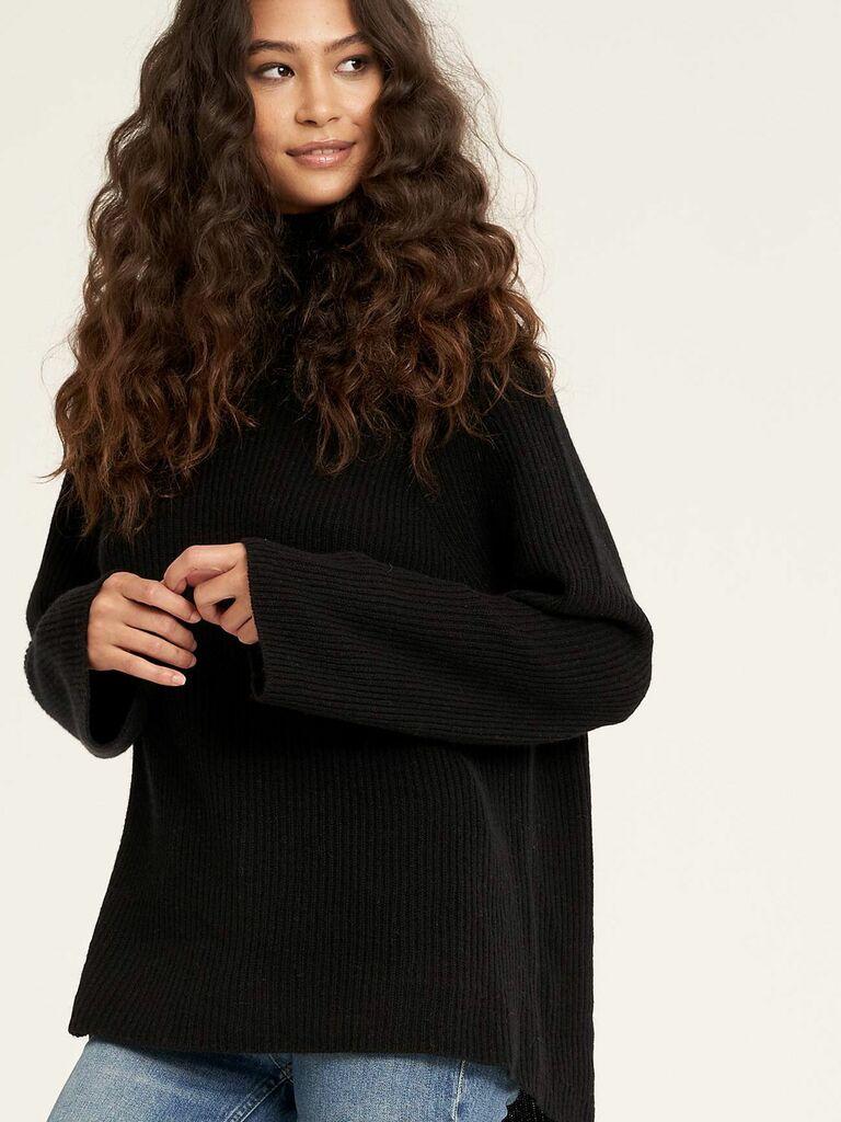 кашемировый свитер идея рождественского подарка жене