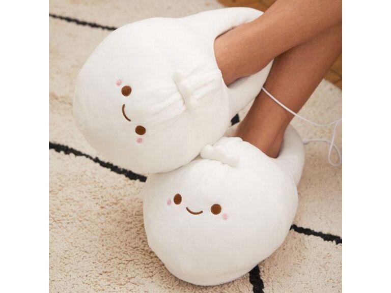 Heated dumpling slippers