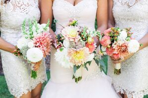 Pastel Dahlia-Filled Bouquets