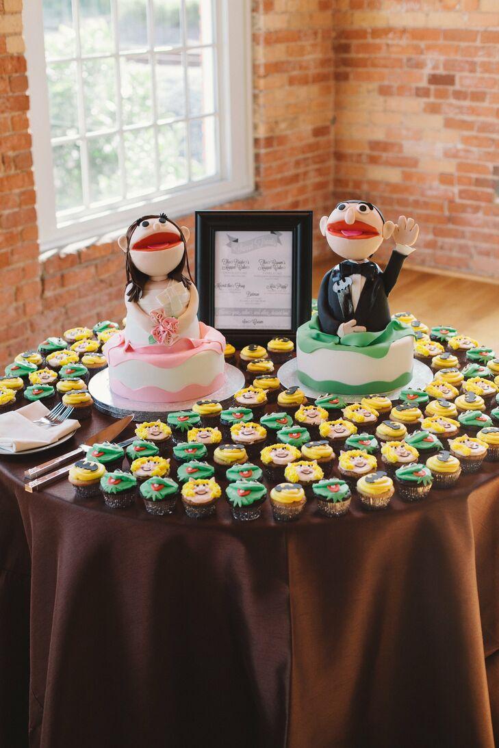 Muppets Wedding Cake