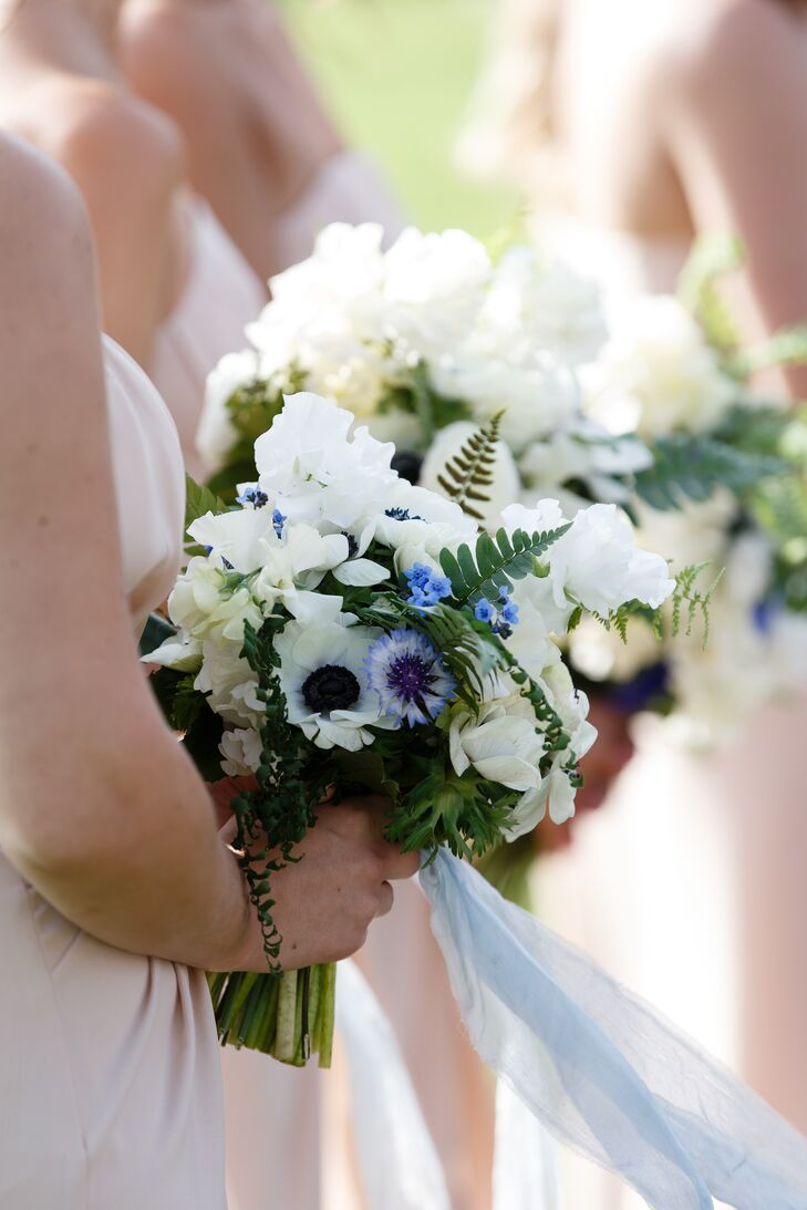 Summery Wildflower and Fern Bouquets