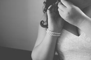 Delicate Pearl Bridal Bracelet