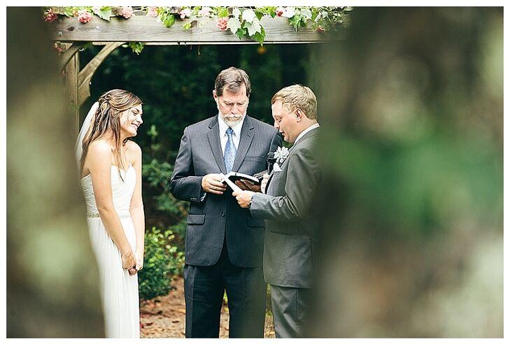 The McGarity House Backyard Wedding Vows
