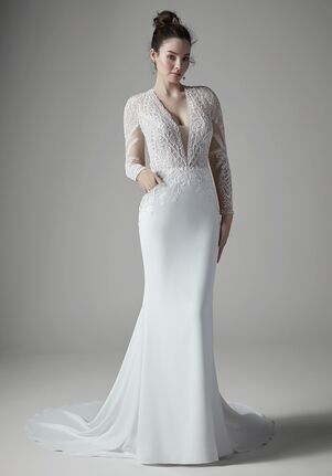 Sottero and Midgley BURTON DAWN Sheath Wedding Dress