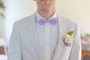 Purple Bow Tie
