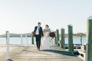 Fall Wedding at Linden Place