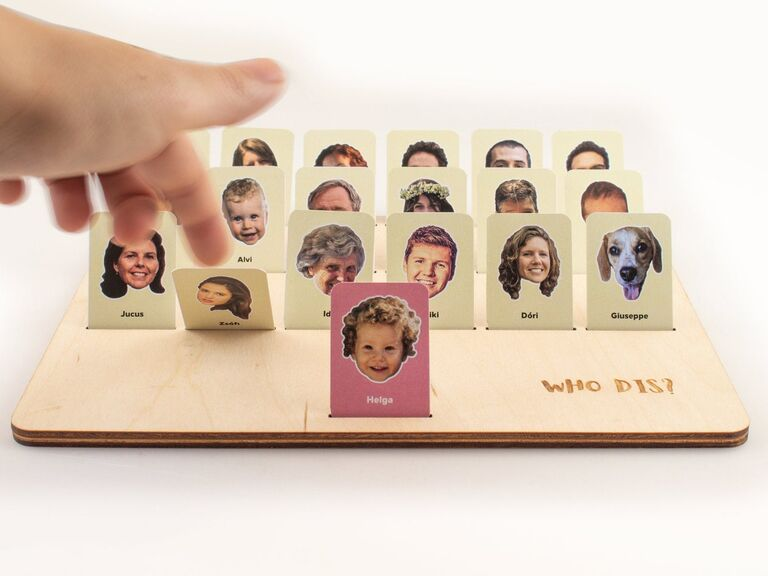 Long-distance dad gift board game