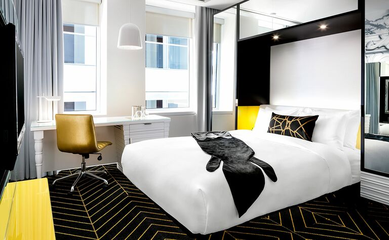 W Montreal Bachelor Party Hotels