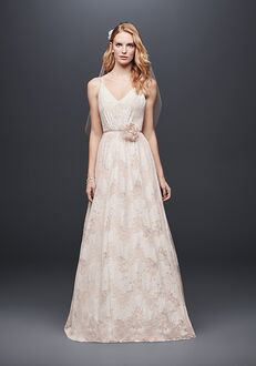 David's Bridal Galina Style WG3915 A-Line Wedding Dress