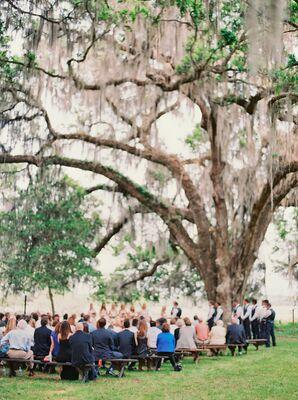 Jessica and Greg's Outdoor Florida Ceremony