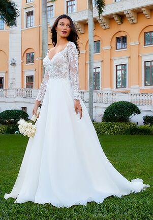 Adrianna Papell Platinum 31186 Ball Gown Wedding Dress