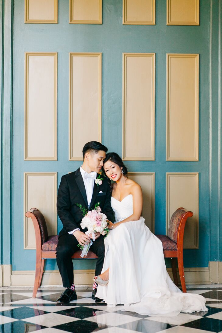 Winnie Nham (27 and a communications manager) and Darren Liang (31 and a director of organizational efficiency) planned a romantic, glamorous affair t
