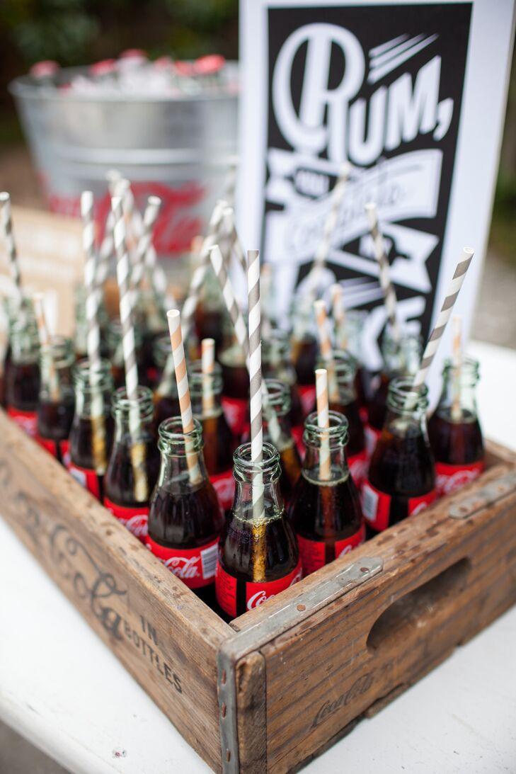 Coke bottle signature cocktails