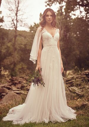 Lillian West 66065 A-Line Wedding Dress