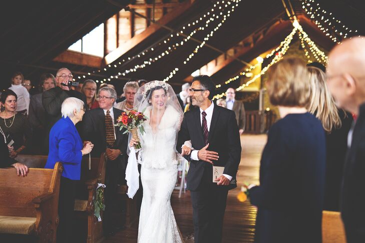 "Nicole walked down the aisle to Cat Power's version of ""Sea of Love."""