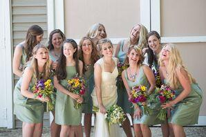Soft Green Bridesmaid Dresses