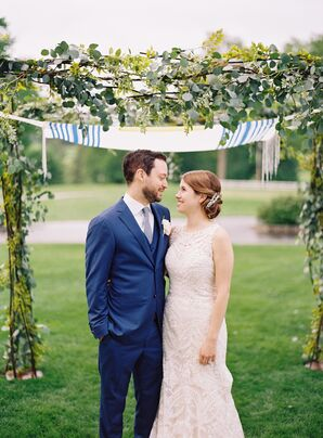 Eucalyptus and Vine Chuppah