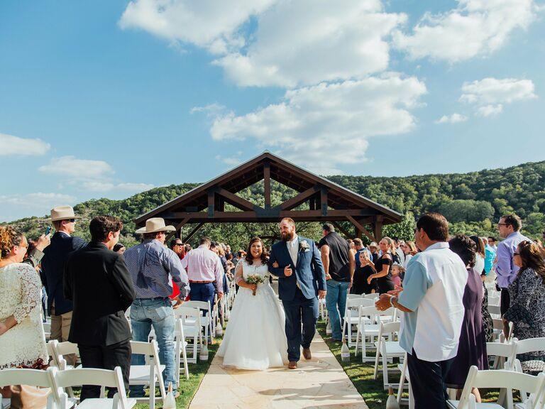 Wedding venues in Boerne, Texas.
